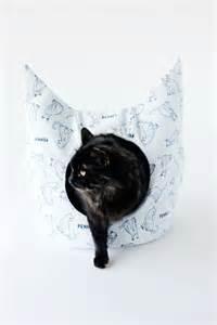 patron de couture gratuit un lit pour chat de
