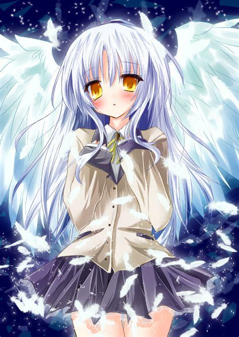 tachibana kanade angel beats mobile wallpaper