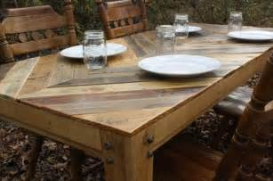 Patio Dinner Set The Recycled Pallet Dining Table 16 Perfect Ideas