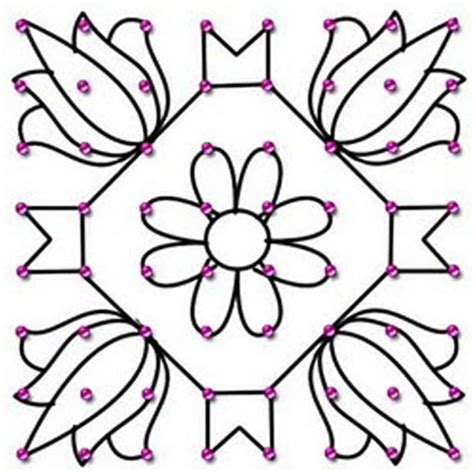 dot pattern rangoli designs top 9 rangoli designs with dots styles at life