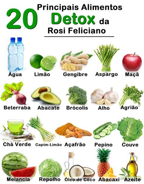 Nombres De Bebida Detox by 7 Receitas De Bebida Detox Receitas Dietas