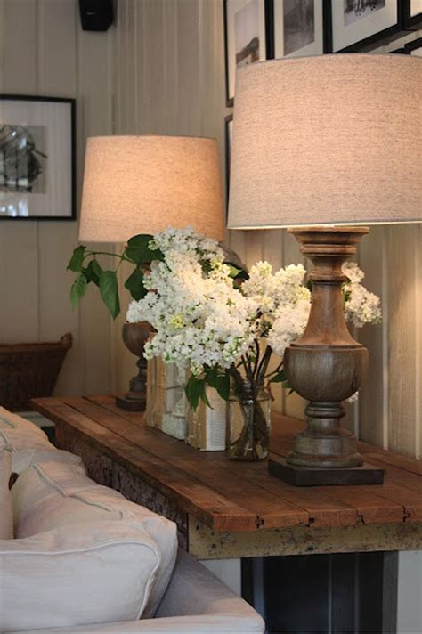 table between couch and wall interiors i love console tables behind sofas k sarah