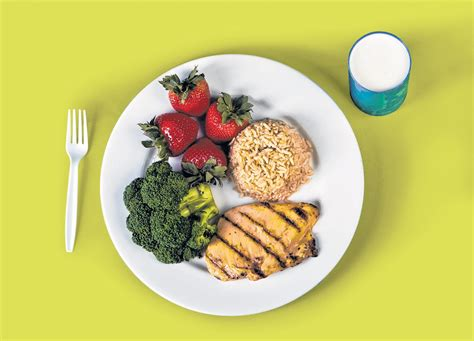 Meal Plate healthy williams county health dept