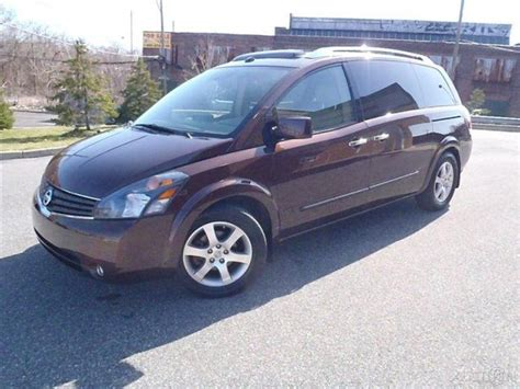 2007 nissan quest se for sale 2007 nissan quest 3 5 se quest bose dvd panoramic roof for