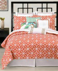 Trina turk bedding trellis coral comforter and duvet cover sets