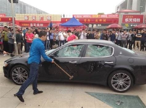 maserati quattroporte maintenance cost angry owner destroys maserati quattroporte in china