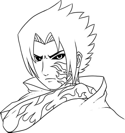 Printable Coloring Pages Naruto | free printable naruto coloring pages for kids