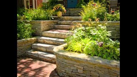 small home terraced garden ideas