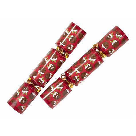 set of six bingo christmas crackers by lucky roo
