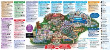 disneyland park california map disney california adventure park thrillz the ultimate