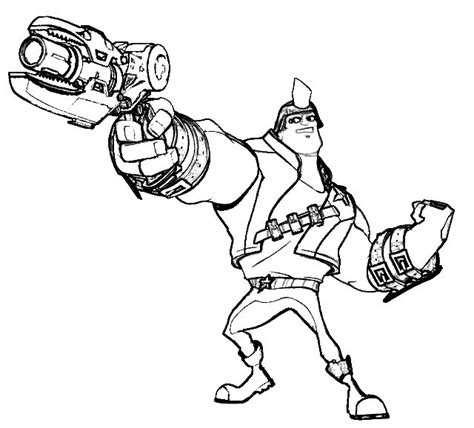 herofactory free colouring pages