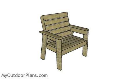 large outdoor chair plans myoutdoorplans