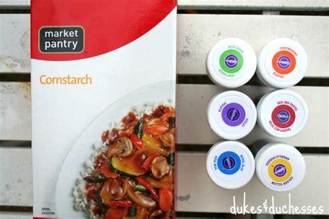 colored cornstarch diy color powder for a color fight dukes and duchesses