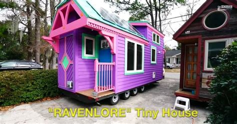 Colorful Cabins by Colorful Ravenlore Tiny House By Tiny Green Cabins