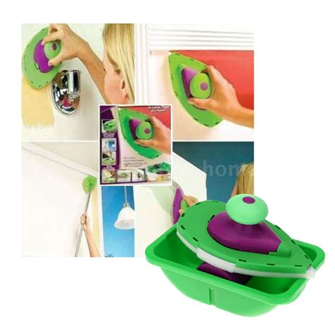 home painting design tool wall paint roller tray set painting brush point paint