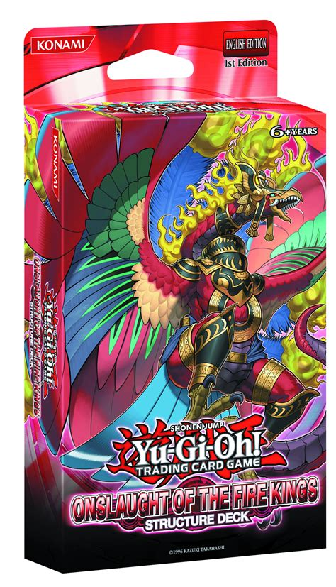 yu gi oh structure decks previewsworld yu gi oh tcg structure deck onslaught