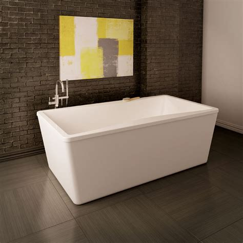 bain bathtubs acryline inc freestanding baths nivo nivo