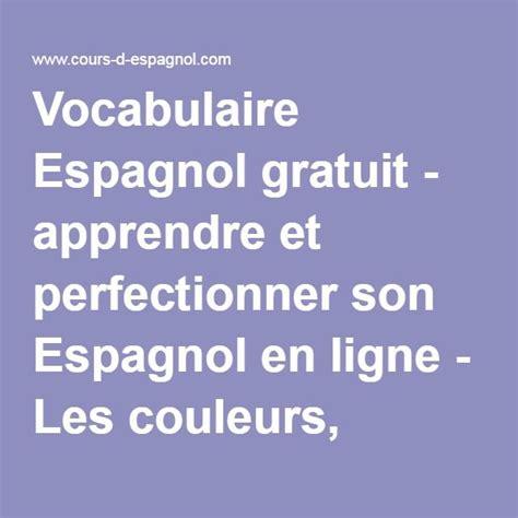 vocabulaire espagnol plus 1000 id 233 es sur le th 232 me apprendre l espagnol sur espagnol enseigner l espagnol et