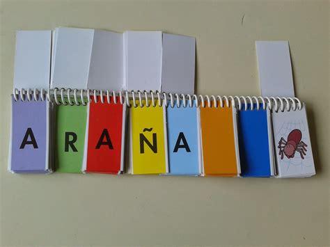 libro de apolonio letras 843761080x gea educadores trabajamos la lectoescritura el libro m 243 vil de letras para formar palabras