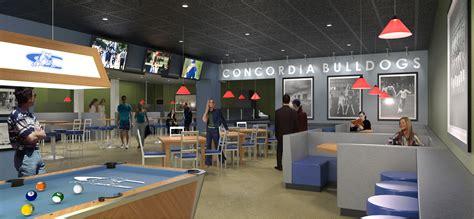 dog house grill website concordia university nebraska s janzow cus center undergoes major renovations