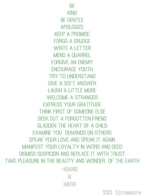 christmas tree quote howard  hunter christmas tree quotes    quotes