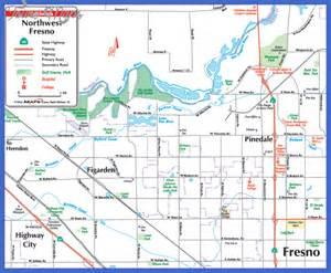 fresno map california fresno map map travel vacations