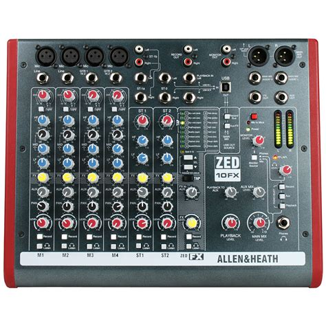 Mixer Allen Heath Terbaru allen heath zed 10fx 171 mixer