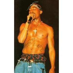 tupac cross tattoo tupac shakur quotes about quotesgram