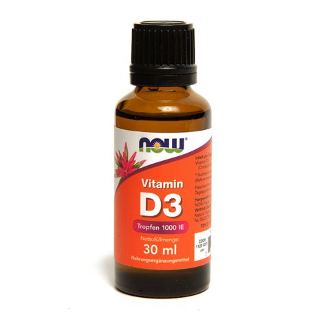 Vitamin D3 1000 Iu now foods hochdosierte 1070 vitamin d3 tropfen fl 252 ssig