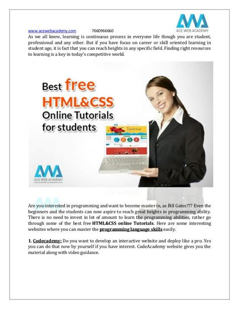 online tutorial css best free html css and php online training tutorials for