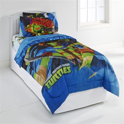 ninja turtle comforter nickelodeon teenage mutant ninja turtles boy s twin sheet