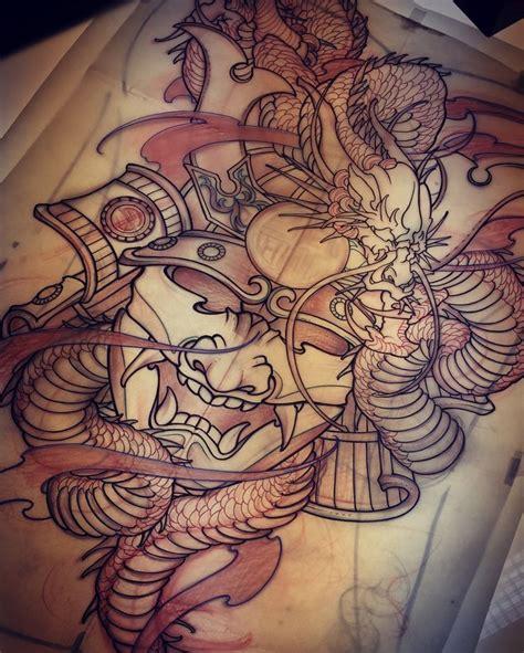 tattoo oriental espalda best 25 samurai mask tattoo ideas on pinterest