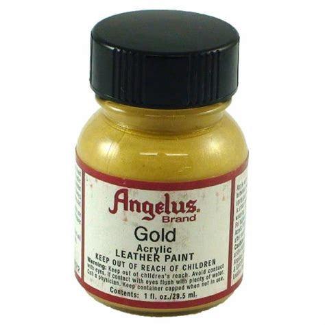 angelus paint refund springfield leather company s gold acrylic leather paint