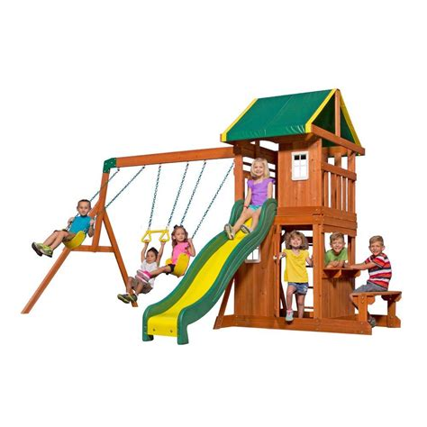 Backyard Discovery Pittsburg Kansas Upc 752113651142 Oakmont All Cedar Playset Upcitemdb