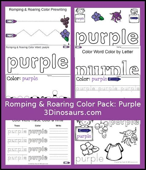 the color purple book activities 73 best images about pre k color worksheets activities on