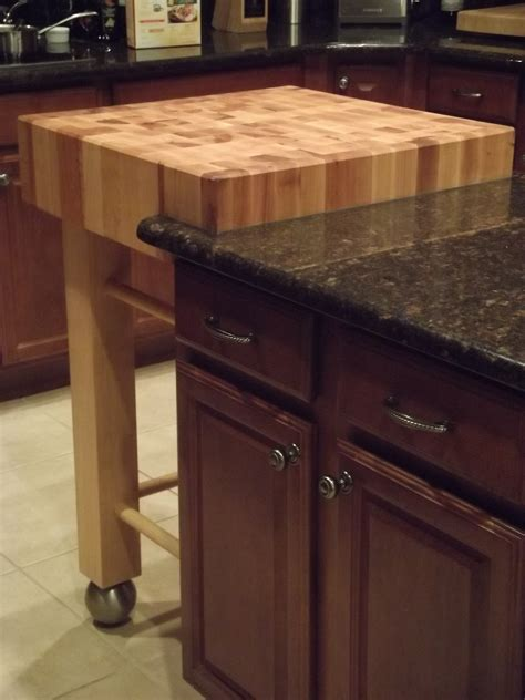 kitchen island butcher block wooden small butcher block island with trundle and