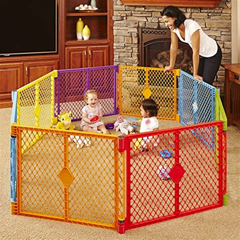 new safety gate superyard play yard colorplay 8 panel ebay