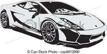 vector clipart sport car class eps csp9913990 clip art illustration