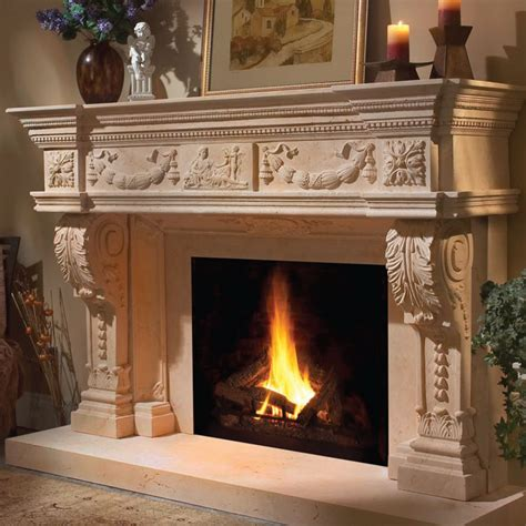 Cast Fireplace Mantels And Surrounds by Cast Fireplace Mantels Interior Exterior Doors