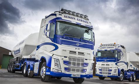 new volvo tractor simon gibson transport bulk up with more new volvo fh