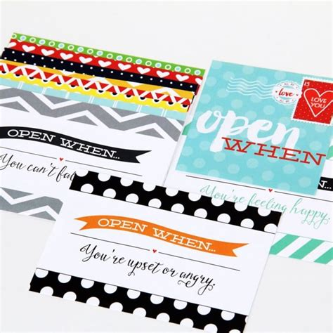 printable open when letters free open when letters the dating divas