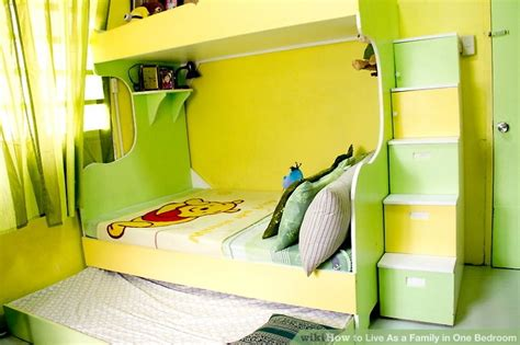 how to live as a family in one bedroom 8 steps with