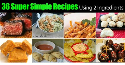 Where Do You Find Your Recipes by 36 Simple Recipes Using 2 Ingredients Ohsimply