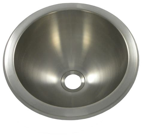 60 Double Sink Vanity Opella 540631 12 Inch Round Lavatory Sink In Brushed