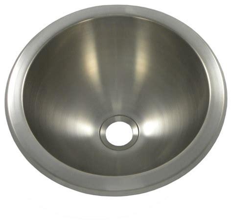 12 inch bathroom sink opella 540631 12 inch round lavatory sink in brushed