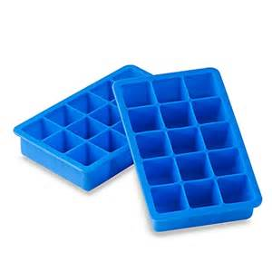 Blue silicone ice cube tray bed bath amp beyond