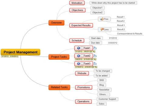 plan projects brainstorm and share ideas with mindmaple lite