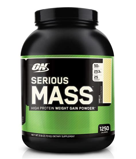 On Serious Mass On Optimum Nutrition Serious Mass Buy On Optimum