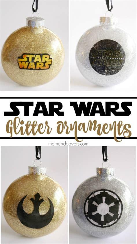diy wars diy glitter wars ornaments