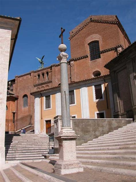 palazzo santa porta coeli chiesa di santa in aracoeli a roma foto e storia